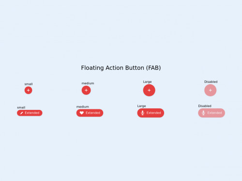 tailwind Tailwind CSS FAB buttons