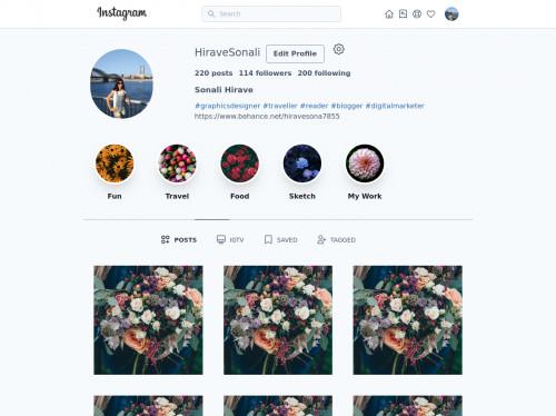 tailwind Instagram Clone