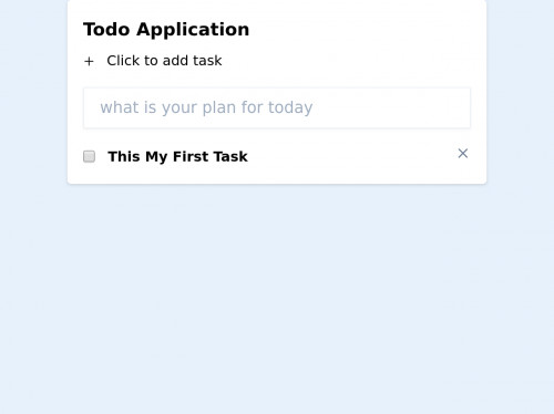 tailwind Todo Application