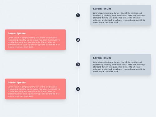 tailwind Simple Vertical Timeline