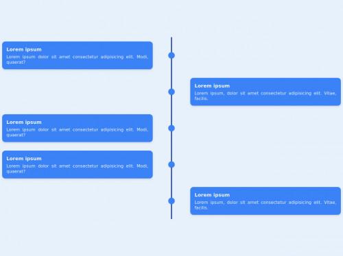 tailwind Responsive vertical timeline