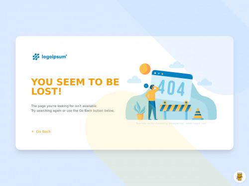 tailwind 404 Template