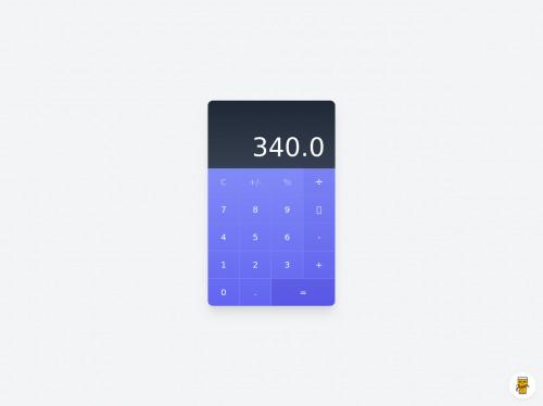 tailwind Calculator UI