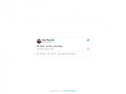 tailwind Elon Musk Embed Tweet