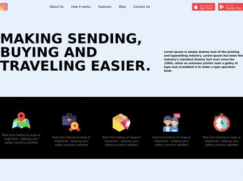 tailwind Landing Page template - Tailwind CSS