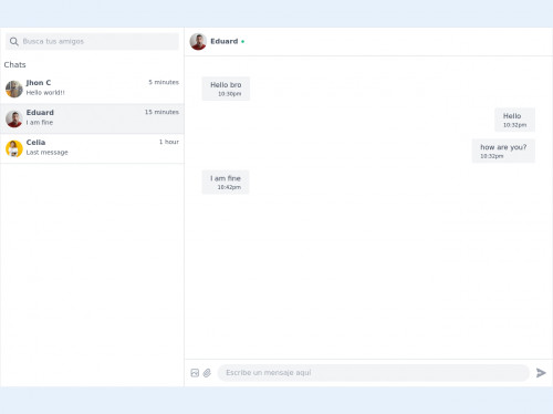 tailwind Example Chat