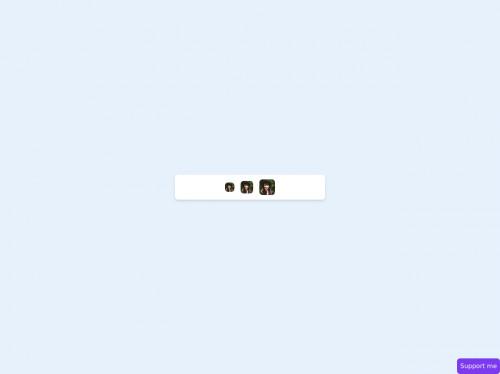 tailwind User avatar rounded corner