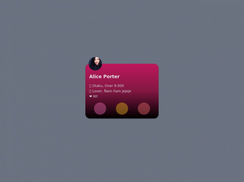 tailwind Card User