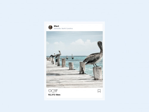 tailwind Instagram Post