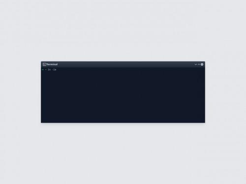 tailwind Terminal (KDE Plasma)
