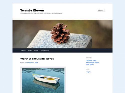 tailwind Twenty Eleven