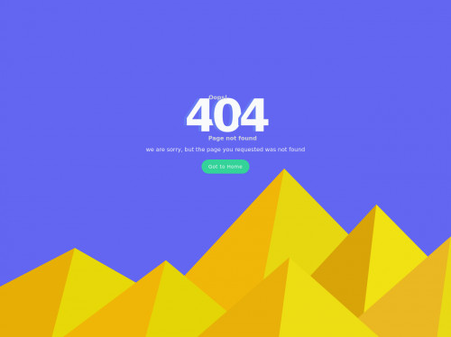tailwind 404 Error Page Design In Tailwind CSS