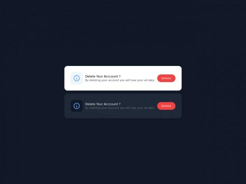 tailwind Tailwind CSS Notification Card