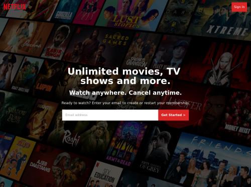 tailwind Netflix Clone