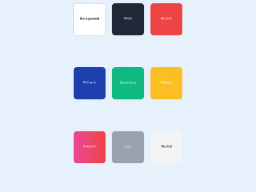 tailwind Material Color Palette
