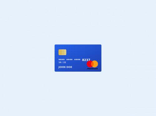 tailwind MasterCard UI