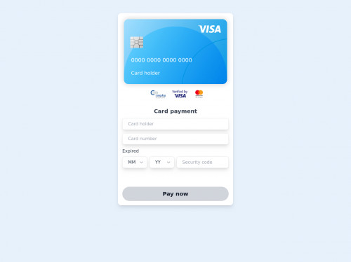 tailwind Interactive payment gateway