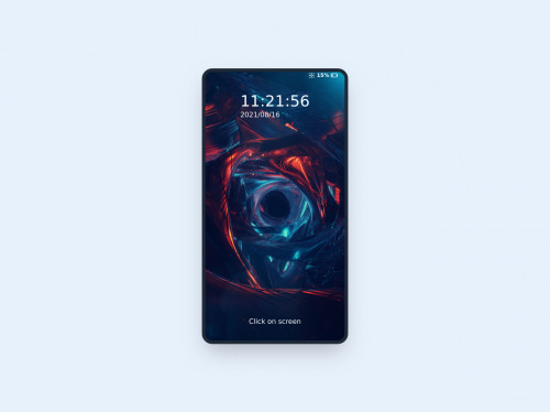 tailwind Fully interactive smartphone