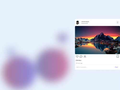 tailwind instagram feed Respnsive
