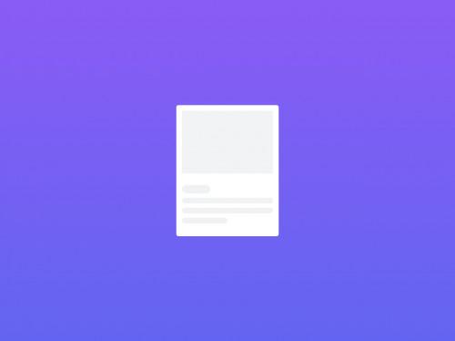 tailwind Basic card Animation Loading