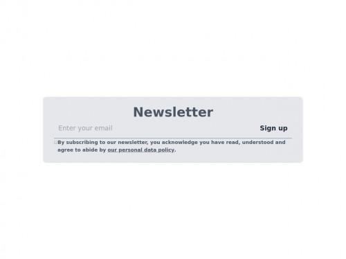 tailwind Newsletter
