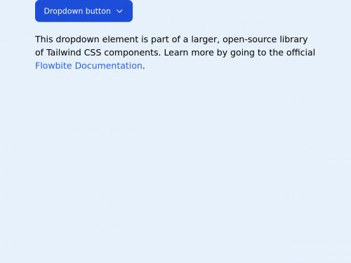 tailwind Tailwind CSS dropdown