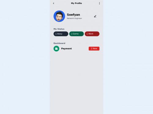 tailwind Sample Profile Page