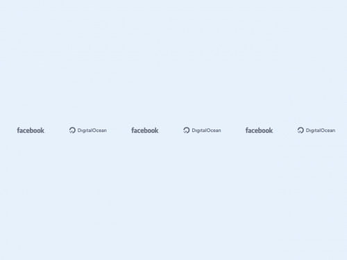 tailwind Responsive Logos Section #1 - Light Mode