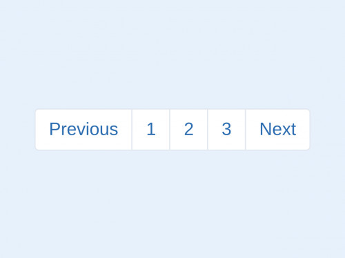 tailwind Bootstrap style pagination