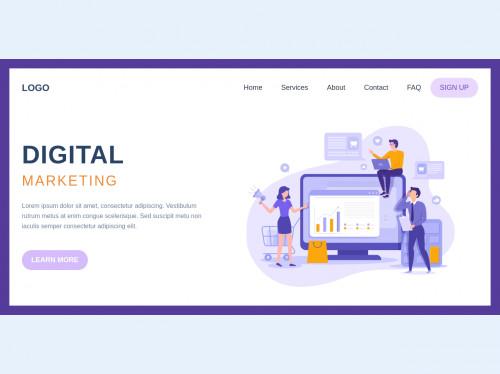 tailwind Digital Marketing Landing