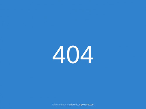 tailwind Error 404
