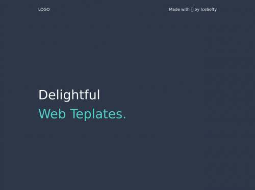tailwind Landing Page with twinkling stars 🌟