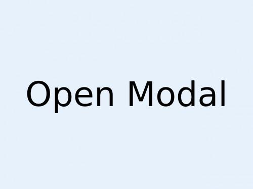 tailwind Modal with JavaScript